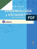 Epidemiología y Estadística Para Principiantes - Ruth p. Henquin