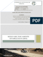 Muros Mecánicamente Estabilizados (MSE)