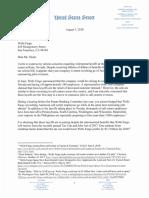 Cortez Masto Letter to Wells Fargo Reno Layoffs