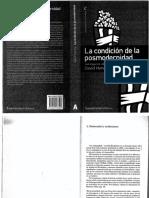 La Condicion de La Posmodernidad-27092013122518