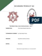 Informe Final 2016-2017