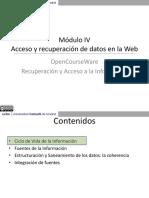 Acceso y recuperación de datos en la Web
