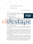 El Gobierno corrió al fiscal que debía investigar a los aportantes truchos y a Vidal