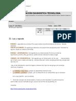 Prueba Diagnostica Te4cnologia 8 Basico