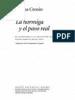 Helena Cronin - La Hormiga y El Pavo Real