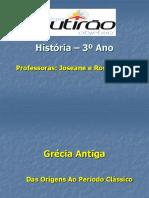 Grécia Antiga - Prof. Rossana