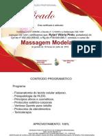 certificado de massagem modeladora