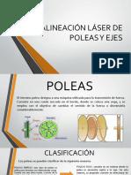 Alineación Láser de Poleas y Acoples
