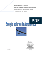 Energia Solar Aeronautica
