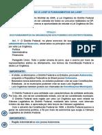 Resumo 976905 Rodrigo Francelino 19151775 Lei Organica Do Df Aula 01 Introducao a Lodf e Fundamentos Da Lodf