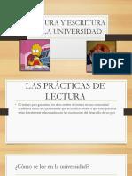Practicas de Lectura y Escritura