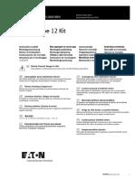 PowerXL DG1 IP54-Type 12 Instruction Leaflet_IL040018EN