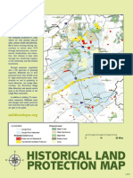 Wildlands Conservancy historical land preservation map