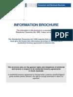 Residential Tenancies Information Brochure