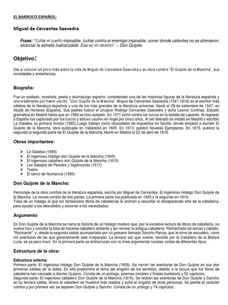 El Quijote E La Mancha Don Quijote Miguel De Cervantes