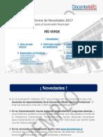 Ejemplo Informe a Sostenedor 2017