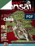 Esprit Bonsai International August September 2015