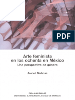Arte Feminista en los ochenta en México