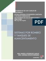SISTEMAS DE BOMBEO Y TANQUES DE ALMACENAMIENTO