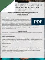 Autoestima Checklist