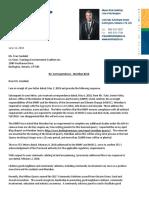 Goldring Letter to TEC - June 11