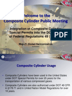 Composite Cylinder Public Meeting Presentation