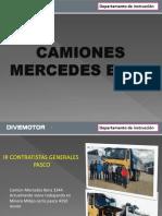 Camiones Mercedes Benz Actros 3344 - 4144