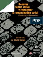 Renovar la teoría crítica_Boaventura.pdf