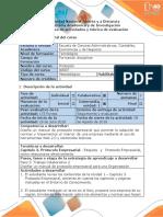 Guía de Actividades y Rúbrica de Evaluación - Paso 3 - Protocolo Empresarial