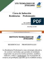 Curso Induccion Residencias May 2018