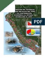 Estimación Del Potencial Minero Metálico Del Perú 22 Dic. 2017-2