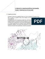 Conocimiento Del Proyecto e Identificación de Facilidades