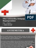 PPT Antiemetika, Kolagoga, Hepatoprotektor