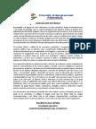 Comunicado de Intergremial sobre Juegos Centroamericanos