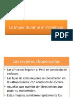 La mujer durante el virreynato del Peru