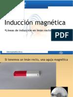 Inducción magnética Líneas