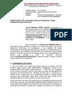 Carpeta Fiscal - Enrique Caso Vehiculo Prendado