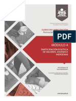 MODULO 4-PARTICIPACIÓN POLÍTICA DE MUJERES, JÓVENES E INDÍGENAS (JURADO NACIONAL DE ELECCIONES) (1).pdf