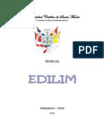 Manual de Edilim