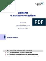 Architecture Système Seminaire SystemX