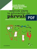 Manual Para La Educación de Párvulos