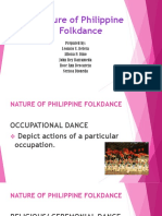 Nature of Phil. Folkdance Grp 6