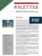 Newsletter T&P N°40
