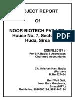 Project- Bio Tech