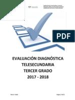 Diagnóstico Tercer Grado