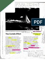 coriolis effect reading assignment