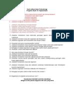 Soal Latihan Ujian Farmakologi S1-Keperawatan