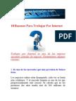 10 Razones Para Trabajar Por Internet