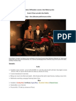 Mahindra 2 Wheelers Zooms Into Motorcycles