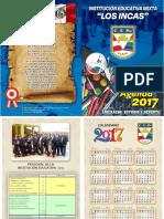 @Caratula Agenda Ie Los Incas 2017